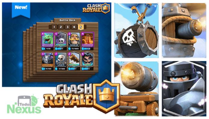 nuevas cartas clash royale 20181