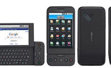 T Mobile G1 el primer movil con android de la historia
