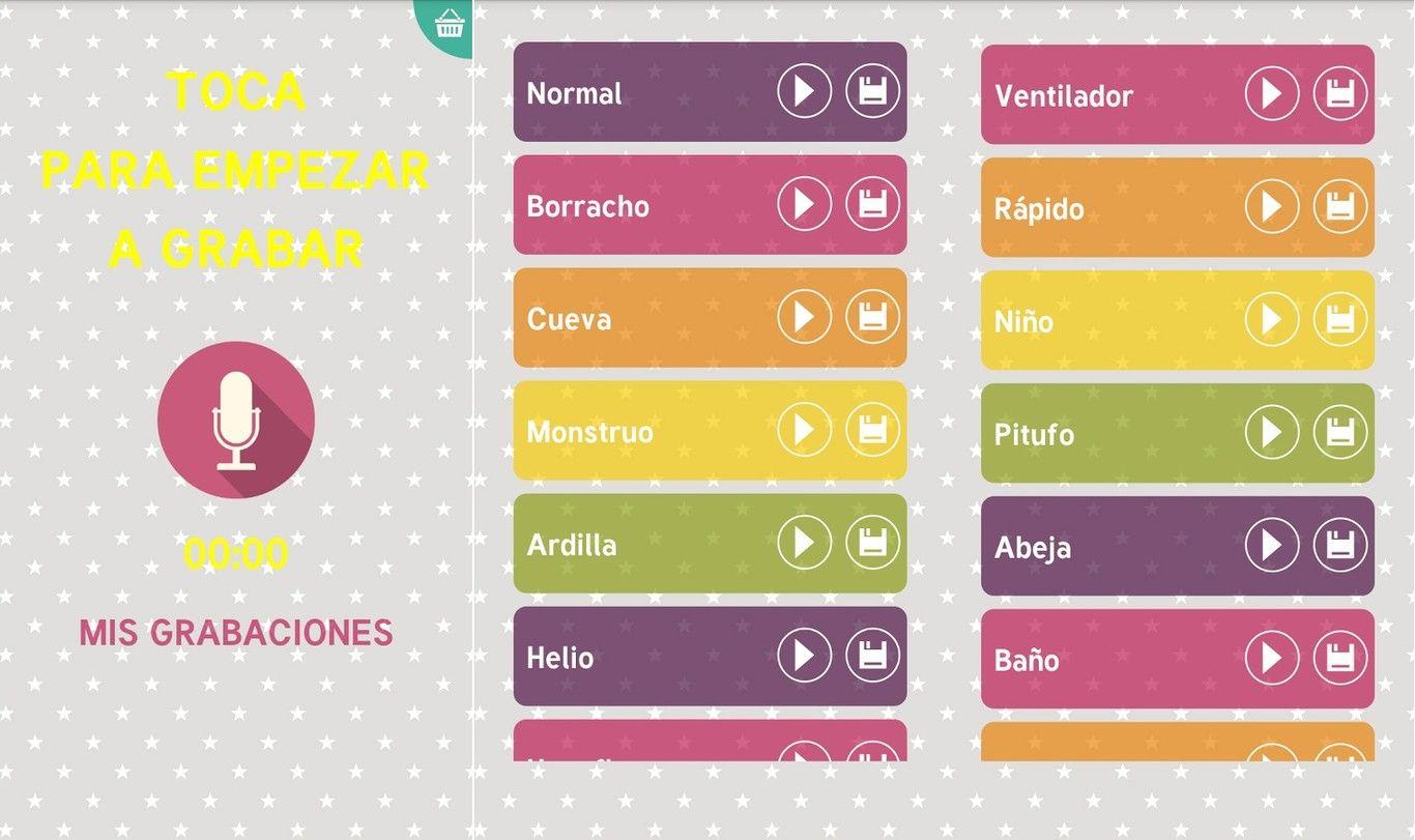 Cambiar voz en Android