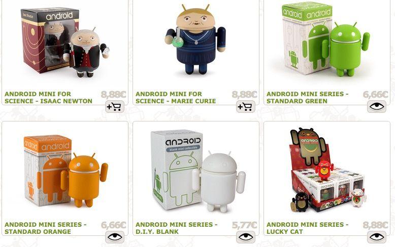 figuras de android