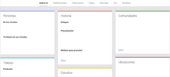 interfaz vieja google+