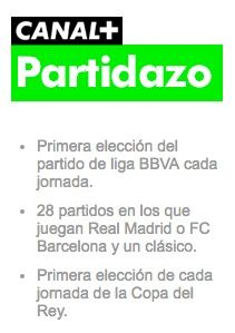 canal plus partidazo