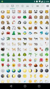 emojis whatsapp pantalla completa