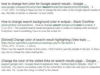 resultados busquedas google negro