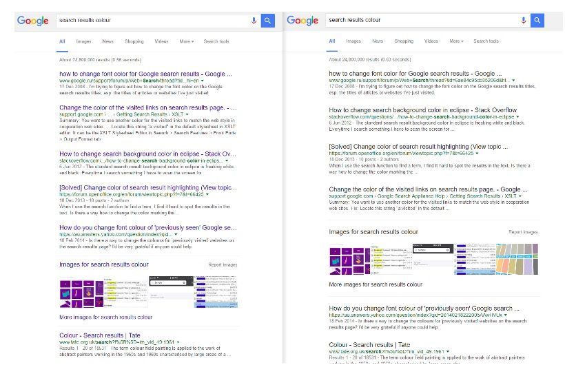 resultados google negro