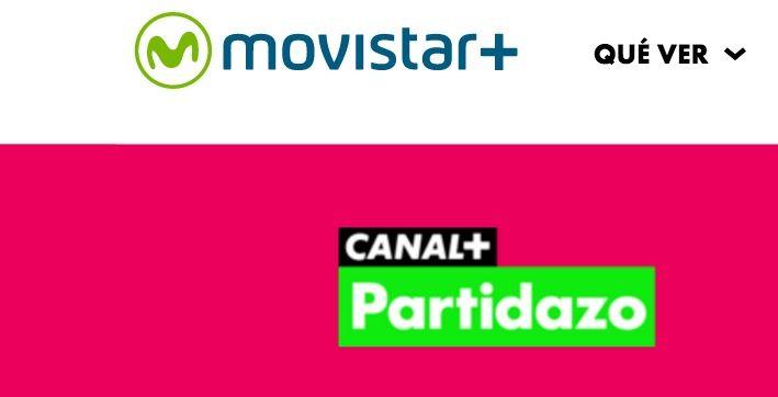 ver Canal+ Partidazo gratis