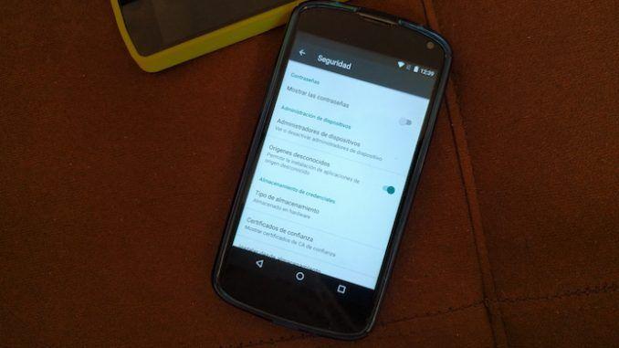 Activar origenes desconocidos en Android