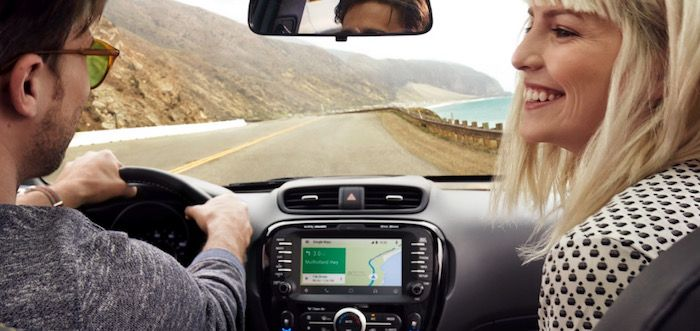 moviles compatibles con android auto