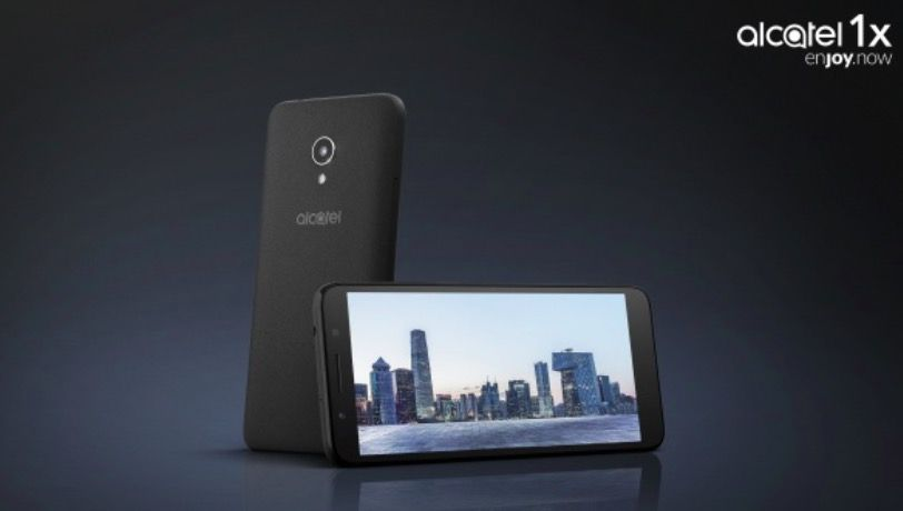 Alcatel 1X con Android Go