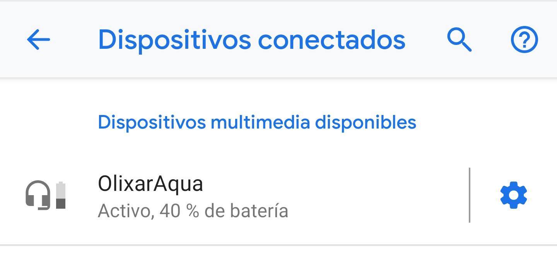 Altavoz Olixar AquaFonik Bluetooth