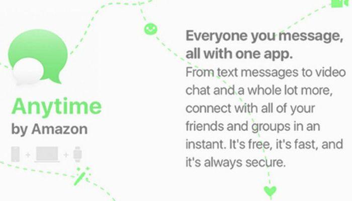 Amazon Anytime, el nuevo WhatsApp