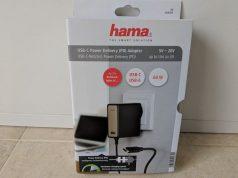 Analisis del cargador Hama USB c