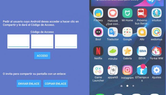 Cómo conectarse remotamente a otro móvil en Android