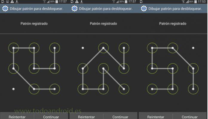Cómo desactivar el patrón de desbloqueo en Android