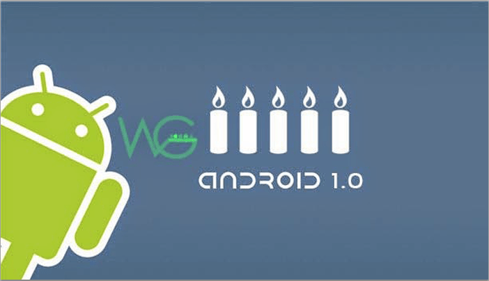 Android cumple 9 años