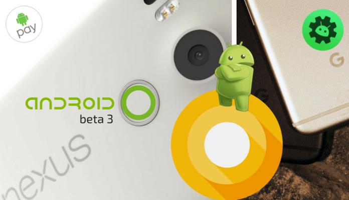 Android O beta 3. Lista para descarga para desarrolladores.