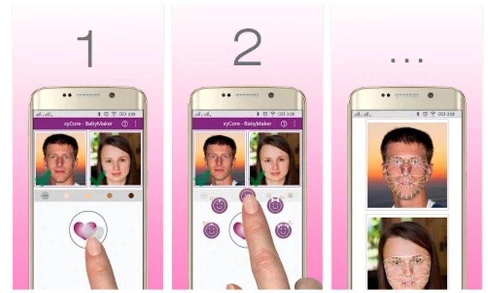 Aplicación para saber como serán tus hijos en Android