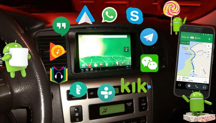 Aplicaciones para Android Auto