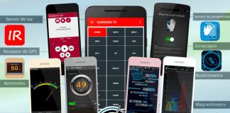 Aplicaciones para exprimir los sensores del móvil Android