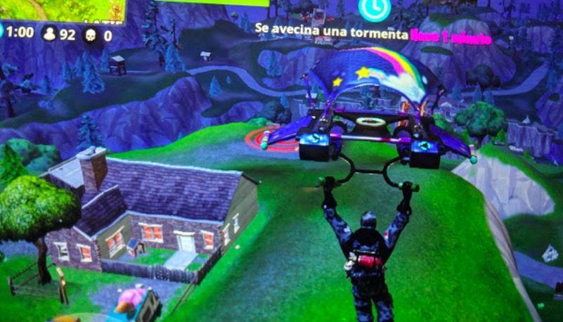Aterriza en objetivos diferentes Fortnite