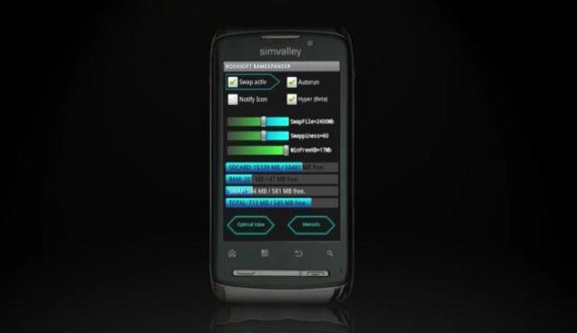 Aumentar memoria RAM Android