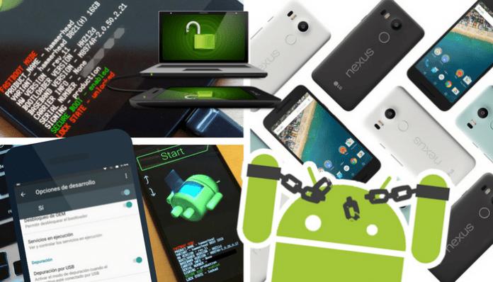 Cómo desbloquear bootloader Nexus 5X