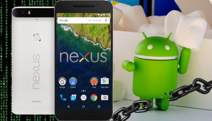Cómo desbloquear bootloader Nexus 6P