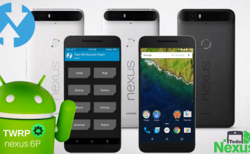 Cómo instalar TWRP Recovery en Nexus 6P.