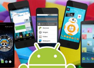 Cómo poner un widget en Android.