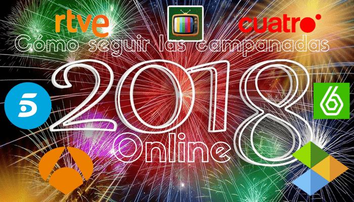 cómo ver las Campanadas 2017 online y en directo