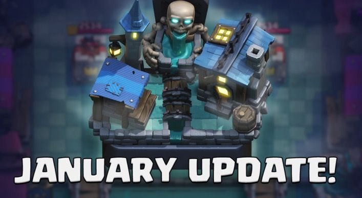 Cambios y novedades Clash Royale (enero 2019)