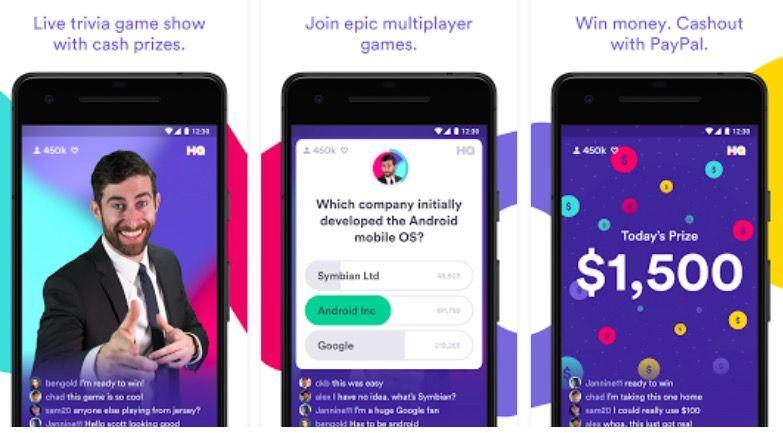 Cómo ganar dinero con HQ Trivia en Android