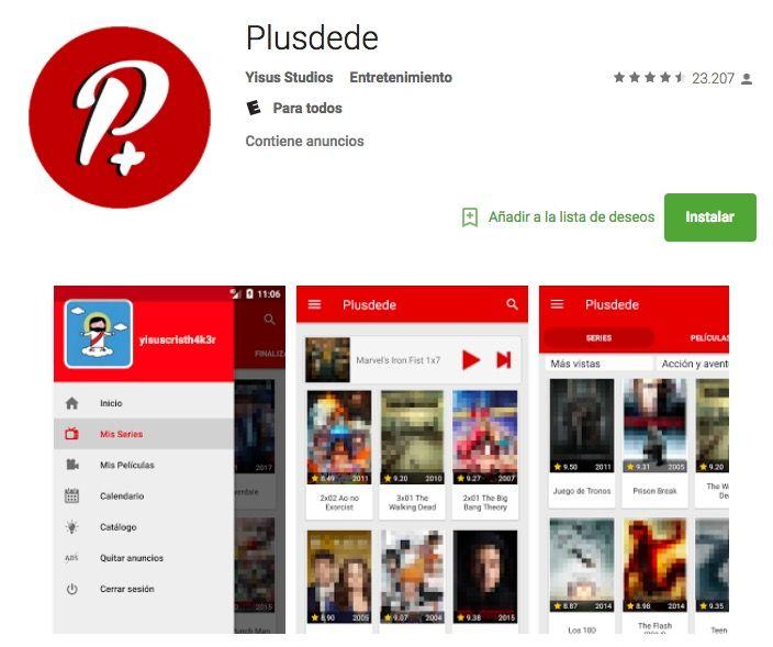 Cómo ver Plusdede en Smart TV