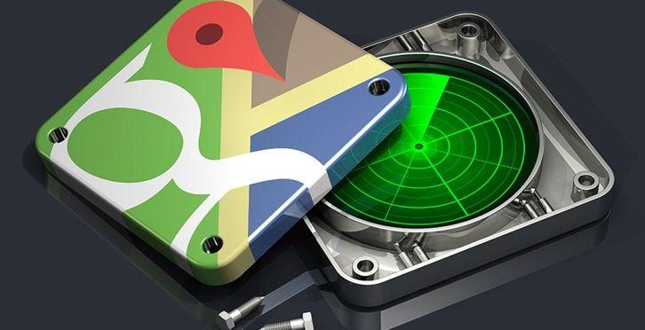 Cómo ver radares en Google Maps