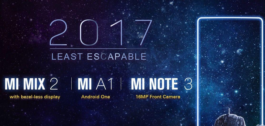 Comprar Xiaomi Mi Mix 2, Mi Note 3 y Mi A1 más baratos con descuento