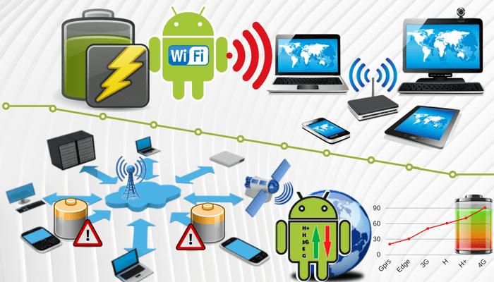 consume más batería wifi o datos móviles