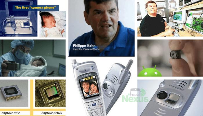 Cuál fue el primer móvil con cámara