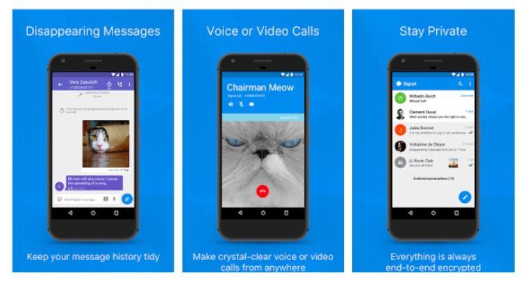 Cuál es la app de mensajería más segura