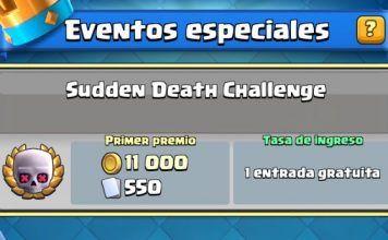 Desafio Clash Royale de muerte subita