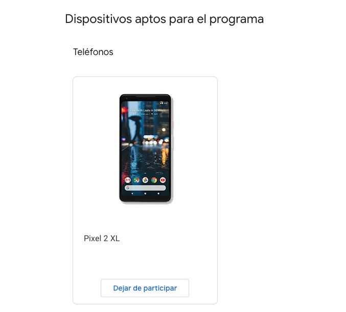 Descargar Android Q para Pixel PROGRAMA BETAS