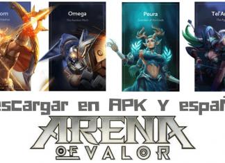 Descargar Arena of Valor APK español 2