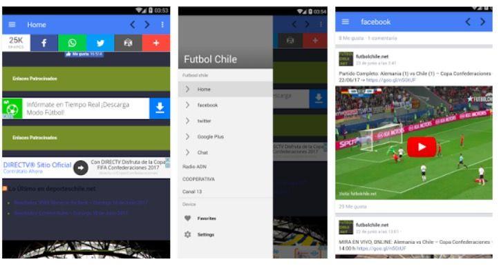 Descargar Futbolchile NET para Android APK