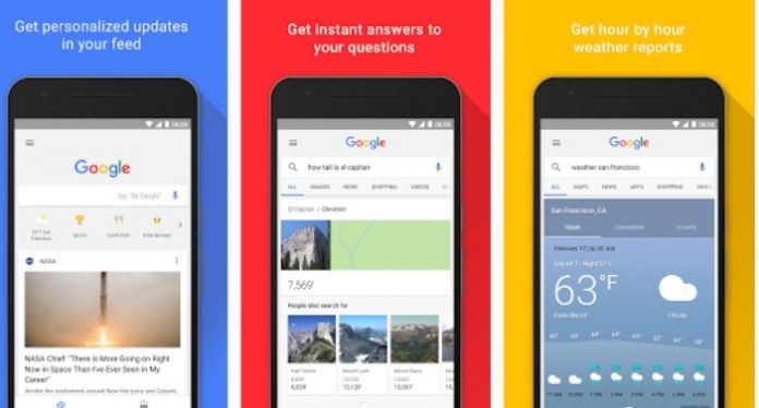 Descargar Google App 7.13.21 beta APK para Android