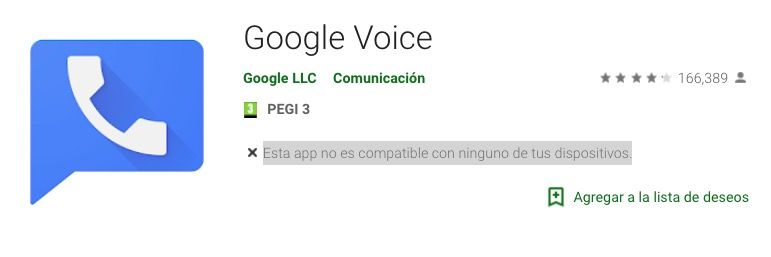 Descargar Google Voice play store
