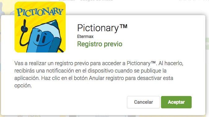 Descargar Pictionary para Android APK