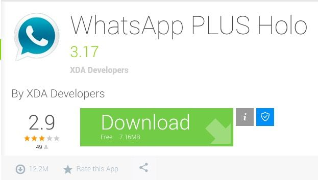 Descargar WhatsApp Plus Holo 3.17 APK para Android