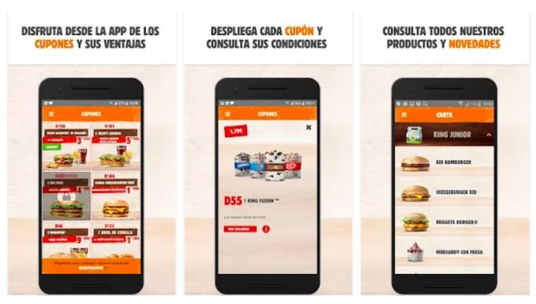 Descargar app Burger King en casa para Android