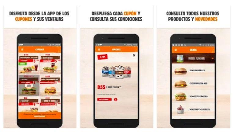 Descargar app Burger King en casa para Android