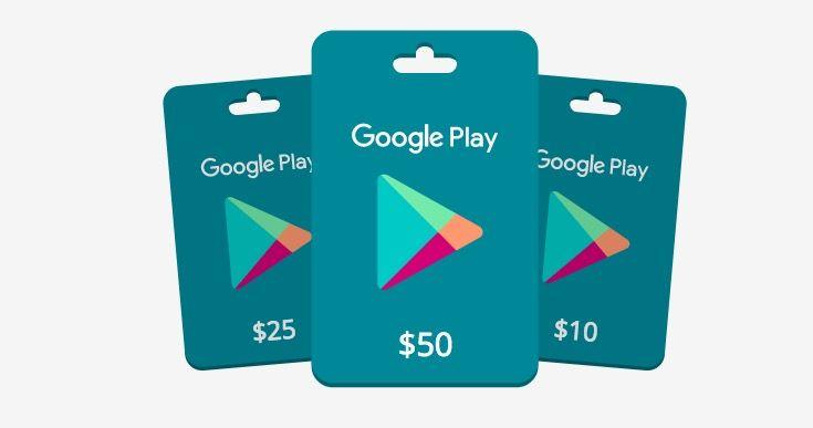 Descargar códigos para canjear en Google Play gratis