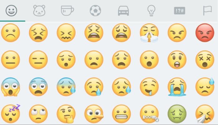 os emojis de Samsung son distintos a los de Android e iOS
